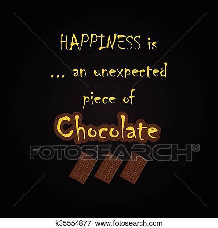 Citaten Noteren : Chocolade citaten clipart k fotosearch