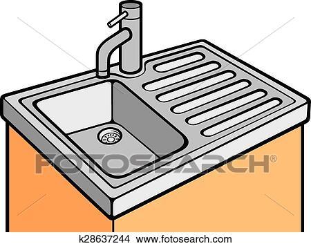 Tremendous Kitchen Sink Clipart Home Interior And Landscaping Ymoonbapapsignezvosmurscom