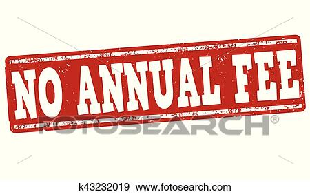 clip art of no annual fee sign or stamp k43232019 search clipart rh fotosearch com free clipart for teachers free clipart for teachers