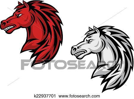 Krotz Springs Elementary School - Vector Horse Mascot Clipart (#56978) -  PinClipart