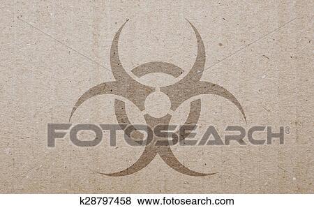 Stock Illustration Of Biohazard Symbol K28797458 Search Eps Clip