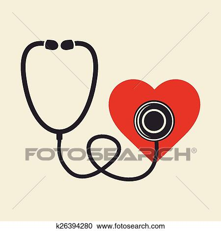 Doctor S Stethoscope Clipart K26394280 Fotosearch