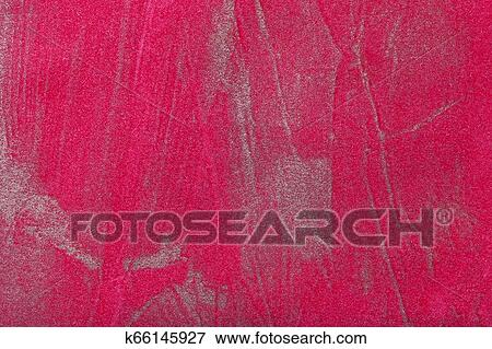 Abstract Art Background Dark Red With Silver Color Multicolor