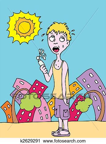 Hot Summer Day Clip Art