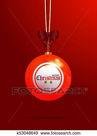 Lotto Weihnachten.Weihnachten Bingo Lotto Flitter Auf Roter Hintergrund Stock Illustration