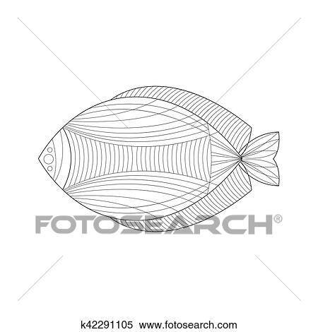 Clipart - agua salada, pez, mar, submarino, naturaleza, adulto ...