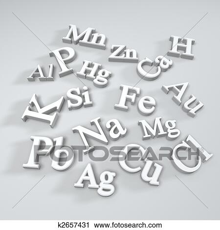 Clipart Of Chemical Element Symbol K2657431 Search Clip Art