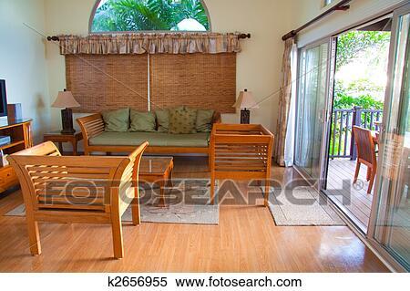 Hawaiian House Decor Stock Photography