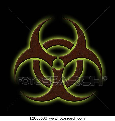 Stock Illustration Of Biohazard K2666536 Search Clip Art Drawings