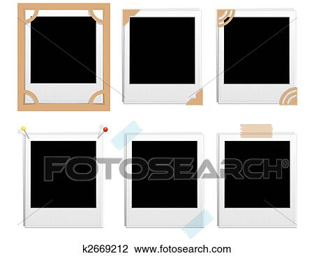 clip art polaroid rahmen k2669212 suche clipart poster illustrationen zeichnungen und eps. Black Bedroom Furniture Sets. Home Design Ideas