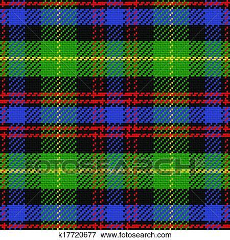 Clip Art Vector Seamless Pattern Scottish Tartan Black Watch Fotosearch Search Clipart