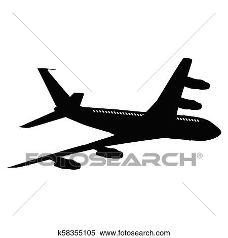 Airplane Silhouette Clipart K58355105 Fotosearch Free icons of airplane silhouette in various design styles for web, mobile, and graphic design projects. fotosearch