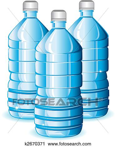 clipart of water bottles k2670371 search clip art illustration rh fotosearch com clipart hot water bottle office clipart water bottle