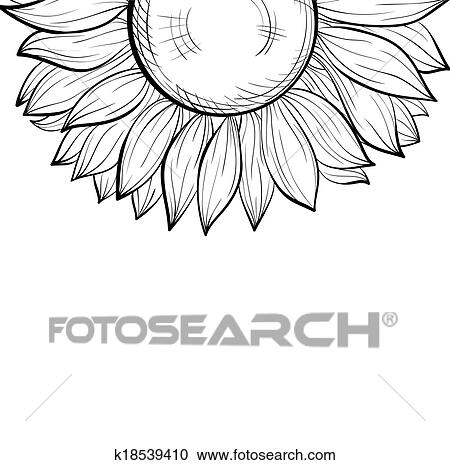 Free Black Sunflower Cliparts, Download Free Clip Art, Free Clip Art on  Clipart Library
