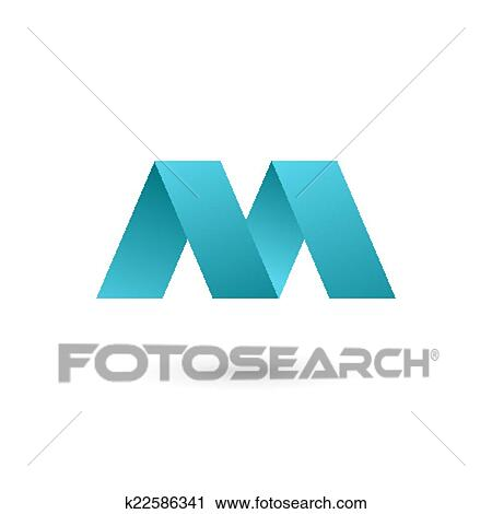 Clipart of Letter M logo icon design template elements k22586341 ...