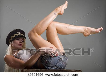 Sexy Legs Stock Photograph K2691696 Fotosearch