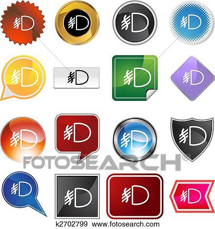 Clip Art - nebel, licht, symbol, satz k2702799 - Suche Clipart ...