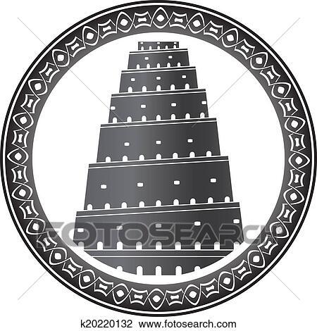 Torre De Babel Terceiro Variante Desenho K20220132 Fotosearch