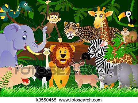 clipart mignon  animal  dessin anim u00e9  dans  les  jungle zoo animal clip art pinterest zoo animal clip art outlines