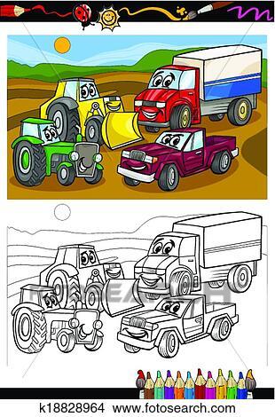 Tolle Ausmalbilder Für Autos Und Lastwagen Ideen ...