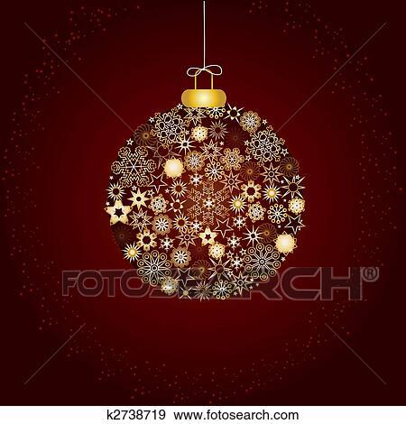 Weihnachtsdeko Gold Braun.Weihnachtsdeko Braun Gold Clip Art