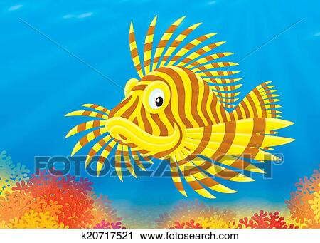 Scorpion Fish Drawing Clipart Scorpion Fish