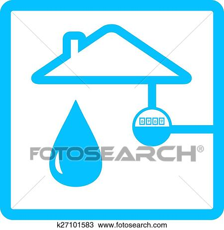clipart of pipeline meter with drop of water k27101583 search clip rh fotosearch com pipeline clip art free pipeliner clipart