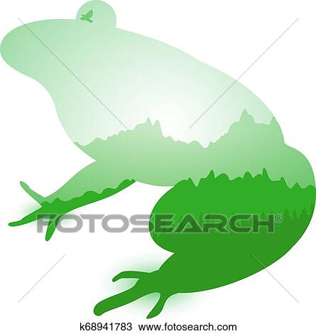 Frog Silhouettes - - Frog Silhouette - Free Transparent PNG Clipart Images  Download