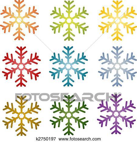 Dessin flocon de neige simple - Comment dessiner un flocon de neige facile ...
