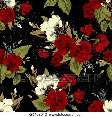 Awesome Rose Rosse Sfondo Nero Sfondo