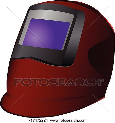 Welding Mask Clipart K17472224 Fotosearch