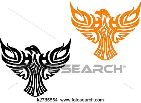 Clipart Of American Eagle Symbol K2785554 Search Clip Art