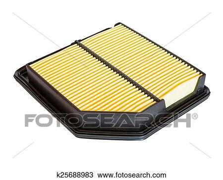 Drawing of New air filter for the car engine k25688983 - Search ...