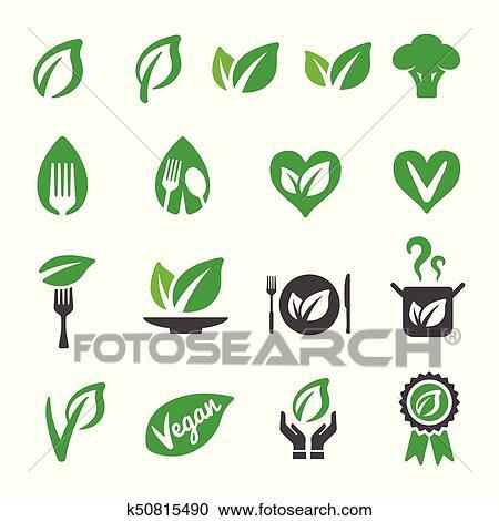 Vegan icon Clipart