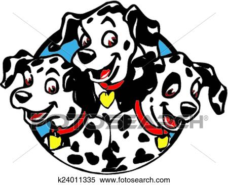 clipart of dalmation puppies k24011335 search clip art rh fotosearch com poppies clip art free puppies clip art borders