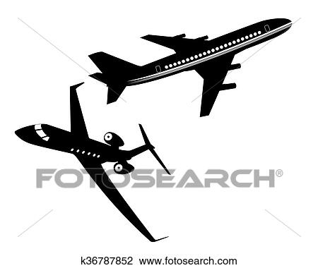 Clipart Passenger Plane | Free Images at Clker.com - vector clip art  online, royalty free & public domain