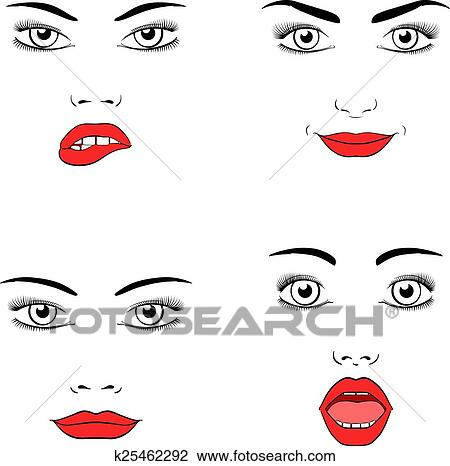 Suche Schöne Bilder clipart schöne frau gesicht silhouette k25462292 suche clip