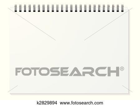 Clipart - spirale, binder, landschaft k2829894 - Suche Clip Art ...