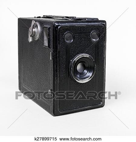 f79a6172b4 Vieux, appareil photo Banques de Photographies | k27899715 | Fotosearch