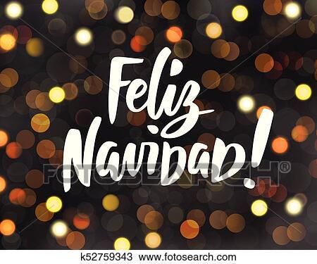 Feliz Navidad - spanish Merry Christmas
