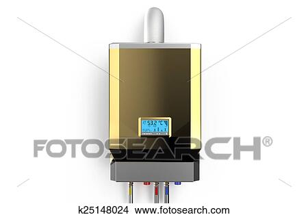 Drawings of Golden home gas-fired boiler, water heater 2 k25148024 ...