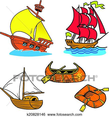 clip art of group of small ships k20828146 search clipart rh fotosearch com small group clipart free small group instruction clipart