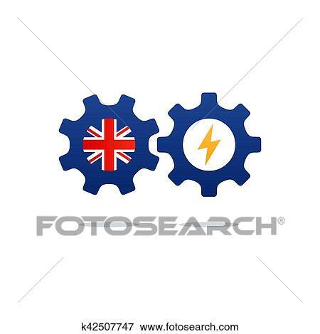 Inglés, cursos, publicidad, concept., fluent, oratoria, idioma extranjero  Clip Art | k42507747 | Fotosearch