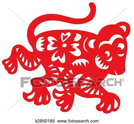 stock illustration chinesischer tierkreis von affe k2850185 suche clipart zeichnungen. Black Bedroom Furniture Sets. Home Design Ideas
