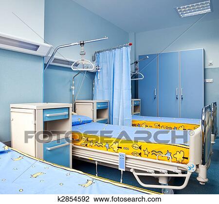 Banque de Photo - rééducation, chambre hôpital k2854592 - Recherchez ...