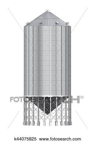 Colección de ilustraciones - bulto, comida, silo k44075825 - Buscar ...