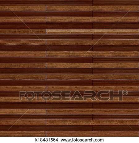 Teak Wood Texture Stock Illustration K18481564 Fotosearch