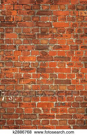 pictures of colorful old british red brick wall background k2886768