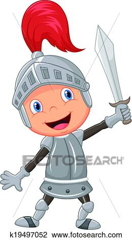 clipart of cartoon knight boy k19497052 search clip art rh fotosearch com knight clipart free knight clipart png