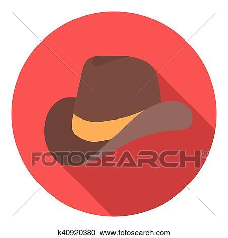 Clipart - sombrero vaquero 3f902577501